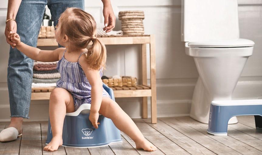 Potty training tips and advice