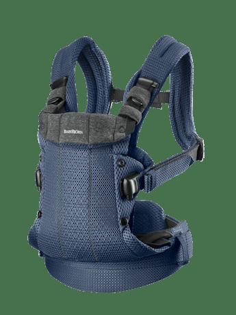 Bärsele Harmony i marinblå 3D Mesh med 4 bärsätt inkl ryggbärande